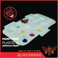Paint Tray Plastic Palet Cat Acrylic - Paint Pallete