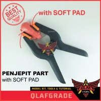 PENJEPIT PART WITH SOFT PAD EXTRA POWER clamp gundam model kit