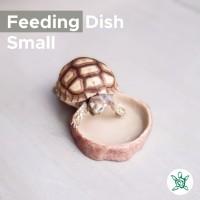 Feeding Dish Rock SMALL / Tempat Makan / Minum Kura / FDR01 SMALL