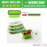 Kotak Makan Foldable Healthy Bento Lunch Box 800ml Food Grade Material
