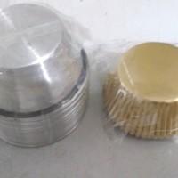 Loyang Cupcake 12 pcs diameter 5 cm utk Kertas Cup - 10.5 mm/5.2 cm