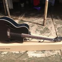 gitar akustik elektrik cort