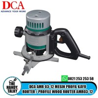 DCA AMR 03-12 MESIN PROFIL KAYU ROUTER / PROFILE WOOD ROUTER AMR03-12