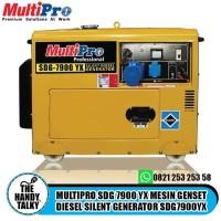 MULTIPRO SDG 7900 YX MESIN GENSET DIESEL SILENT GENERATOR SDG7900YX