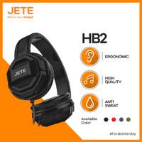Headset Jete HB2 Headphone Bando Jete HB 2 Earphone Powerfull Bass