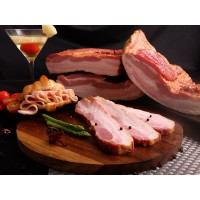 BACON BABI- Streaky Bacon PREMIUM Aroma/Daging Babi Asap - FROZEN FOOD