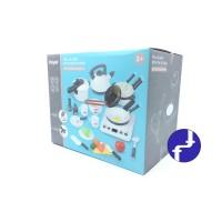 Mainan Anak Dapur Kitchen Masak Masakkan Cook Happy Set Home 30ps 6679