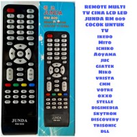 REMOTE MULTI LCD LED TV CHINA JUNDA RM 809