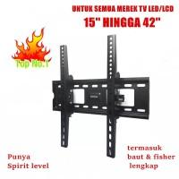 Bracket TV LED/LCD 15-42 inch - Breket TV / Braket TV