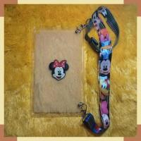 Samsung Tab A 8.0 2019 SMP200 P205 Case 3D Disney + Tali Slempang