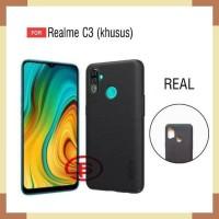 Realme C3 Realmec3 Case Jellycase Softcase Carbon Ver2 Strip