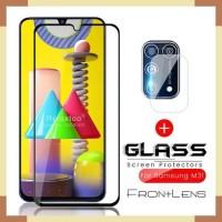Samsung M31 Tempered Glass Depan dan Screen Protektor Kamera Lens