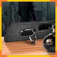 Case Samsung Note 10 Lite Auto Focus Holder Magnetik Ring Stand 360