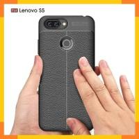 Lenovo S5 Case Carbon Auto Focus Hitam Softcase Lenovo S5