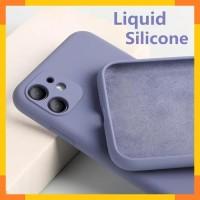 iPhone 11 Case Casing Liquid Silicone Lens Protektor