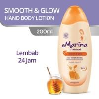 Marina Hand Body Lotion Natural 200 mL