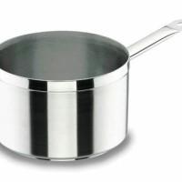 Panci Rebus Lacor Chef Luxe Stainless Steel Deep Saucepan 20cm 4Liter