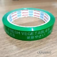 Lakban Isolasi Selotip Sayur Sayuran Fresh Vegetable Hidroponik
