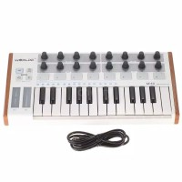 Worlde Ultra Portable Mini Professional 25 Key USB MIDI Drum Pad Keyb