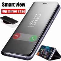 Flip Case Oppo A5 2020 A9 2020 Clear View Standing Cover Ori