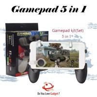 Gamepad 5 in 1 Game Pad 5in1 Mobile Joystick PUBG Controller L1 R1