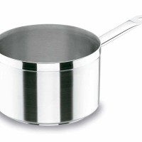 Panci Rebus Lacor Chef Luxe Stainless Steel Deep Saucepan 18cm 3Liter