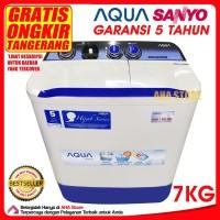 Aqua Mesin Cuci 2 Tabung 7 Kg QW-781XT (GRATIS TANGERANG SEKITAR)