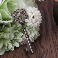 Pembuka Botol Wine Model Kunci Vintage untuk Hadiah Pesta Pernikahan