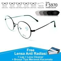 jual berbagai model frame dan lensa Frame Kacamata Pria Wanita Bulat