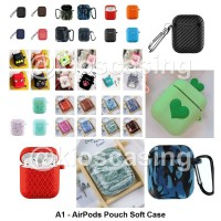 A1 Apple AirPods Case Casing Sarung Soft Silicone Silikon Pouch