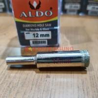Diamond Hole Saw / Mata Bor Pelubang Kaca Keramik Marmer ALDO 12 mm