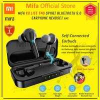Resmi Xiaomi Mifa Airdots X3 Lite Sport Earphone Headset TWS ANC