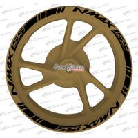 Stiker Velg Sticker Velk Nmax Gold