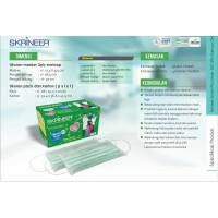 SKRINEER - 3PLY SURGICAL MASK - BFE*99,9%