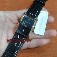 Jam Pria BONIA ORIGINAL BNB10483-1535 Leather Black Rose gold BNB10483