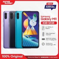 Samsung Galaxy M11 [3GB/32GB] - Garansi Resmi