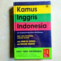 Kamus Bahasa Inggris Jhon Echol original Inggris-Indonesia
