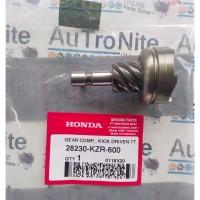 Gear Comp Kick Starter Driven 7T 28230-KZR-600 Ori Honda Vario 125 150