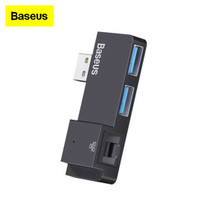 Adapter HUB Baseus Surface Pro USB 3.0 to USB LAN RJ45 for Notebook