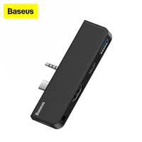 Adapter HUB Baseus Surface Go Type C to USB 3.0 HDMI LAN Audio Type C