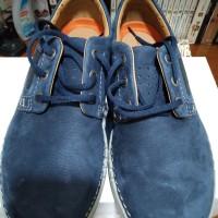 sepatu CLARKS Unnature plain navy