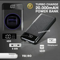 Power Bank Fast /Quick Charge 2 Port 20000mAh Black