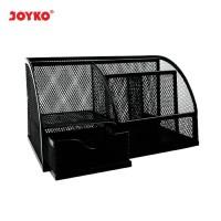 Joyko Tempat pensil / Tempat pulpen / Desk set besi jaring DS-22