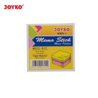 Post It 654 Warna Joyko Memo Stick MMS-1