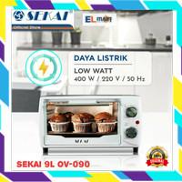 Oven listrik low watt SEKAI 9L OV 090 - pemanggang kue cake OV090