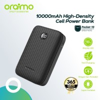Oraimo Pocket 10 OPB-P107D Powerbank 10000mAH Fast Charging - Putih