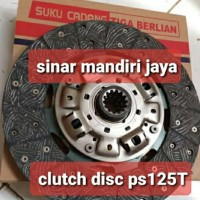 clutch disc ps125 turbo/canter