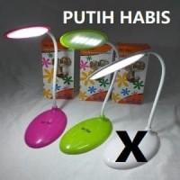 Lampu Belajar Sentuh Touch Cas USB Charge Lampu Baca Van Star