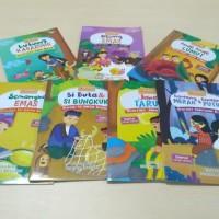 Ori !! harga satu paket isi 7 buku bacaan anak cerita rakyat