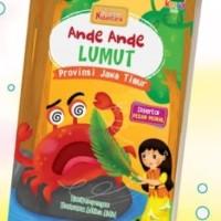 Ori !! buku bacaan anak cerita rakyat Nusantara ande ande lumut